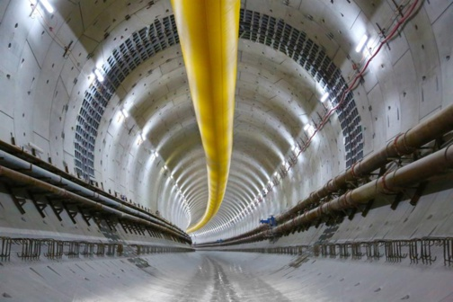 The tunnel represents an investment of $1.245bn (photo Yapi Merkezi)