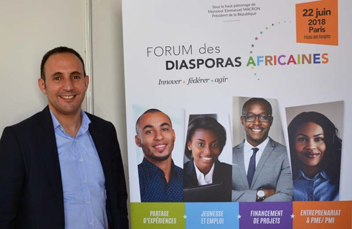 Karim Basrire will be present at the Forum des diasporas africaines organized by Ipemed (photo: F.Dubessy)