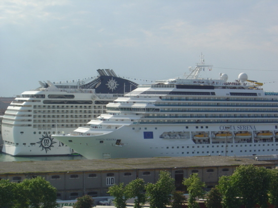 Cruise ships in the port of Venice (photo F. Dubessy)
