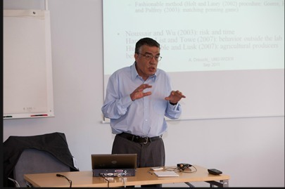 Ahmed Driouchi, Professor of Economics at Al Akhawayn University, Ifrane, Morocco, and author of the FEMISE report. (Photo D.R)