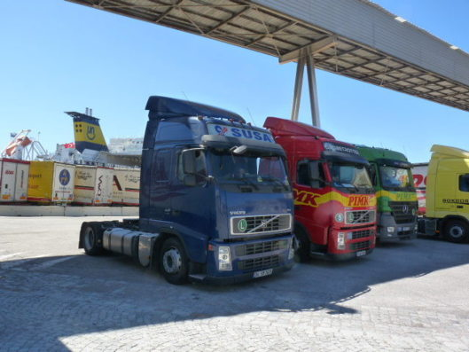 In terms of road transport, Turkey shows signs of great vitality. (Photo N.B.C)