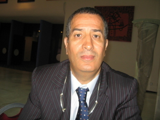 Brahim Gacem, President of FCAS (photo: AB)