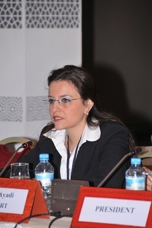Rym Ayadi, Head of the Research Unit on Financial Institutions and Prudential Policy at CEPS, led the FEMISE study (FEM 33-04). (Photo D.R).