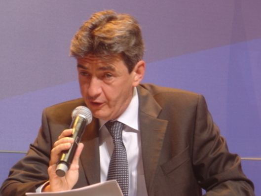Philippe de Fontaine Vive is satisfied with the EIB's capital strengthening measures (photo F.Dubessy)
