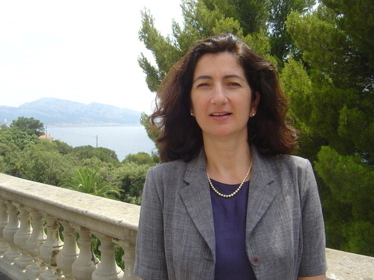 Photo: Pascale Chabrillat, General Director of Ocemo (Photo: F. Dubessy)