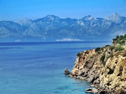 Southwest of Antalya, the Lycian coast is protected in Turkey. Its marine biodiversity benefits the fishermen (Photo MN)