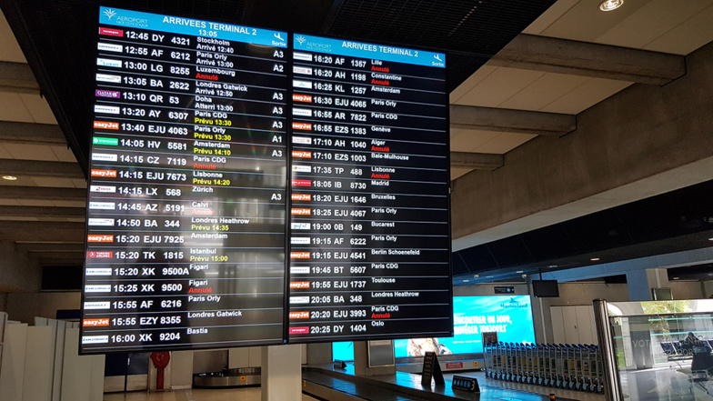 Nice airport is the European destination with the least cancellations (photo: F.Dubessy)