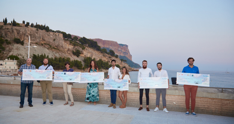 The six start-ups have found concrete answers to the major economic, environmental and societal challenges facing the Mediterranean coast (photo: Cyril Chauvin).
