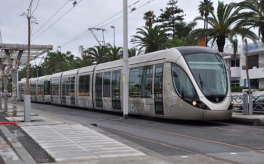 Trams, the most popular type of rail transport in Mediterranean (photo C.Garcia)