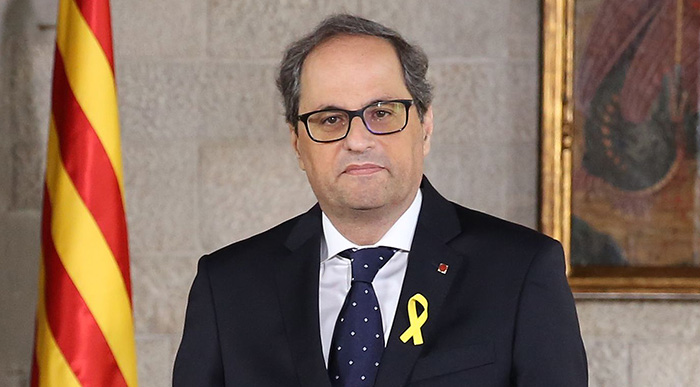 Quim Torra must relinquish his post (photo: Generalitat de Catalunya)