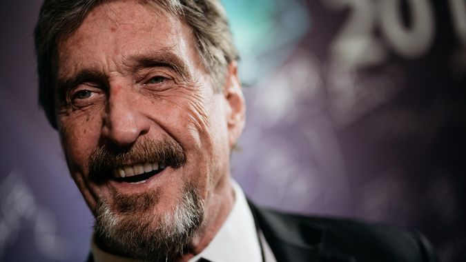 John McAfee sued by the SEC for promoting cryptocurrency projects