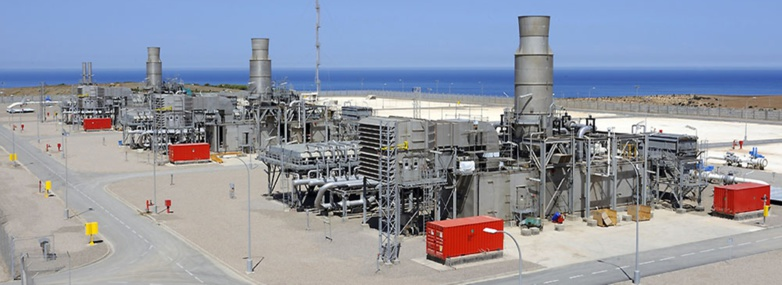 Algerian gas is delivered to Spain via the Medgaz facilities (photo: DR)