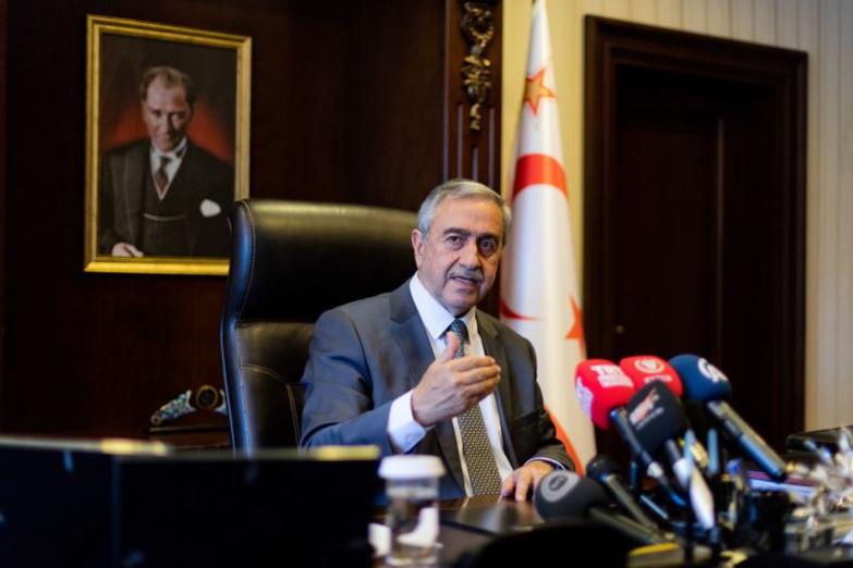 Mustafa Akinci should retain his position as TRNC Chairman (photo: TRNC Presidency)