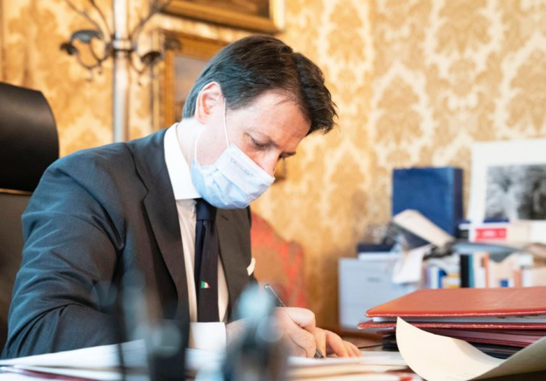 Giuseppe Conte is forced to take new measures against Covid-19 (photo: Italian Presidency of the Council of Ministers