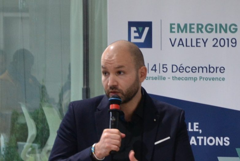 Samir Abdelkrim, founder of Emerging Valley, prefers to postpone his event (photo: F.Dubessy)