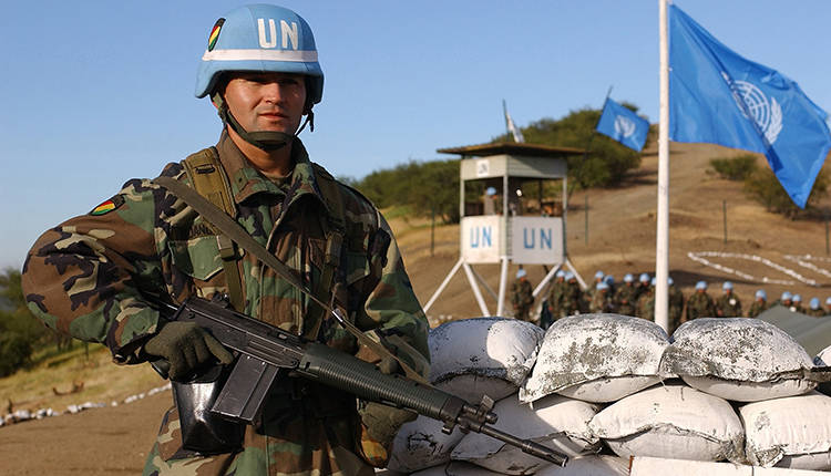 UN peacekeepers keep the peace in Cyprus (photo UNFICYP)
