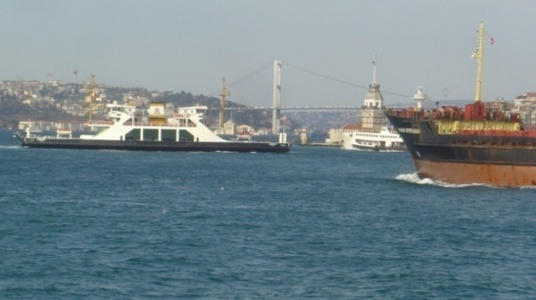 The Bosphorus Tunnel in Istanbul with a rail link contributes to the battle against climate change (photo F.Dubessy)