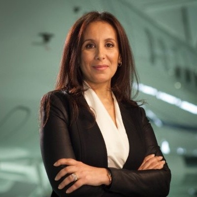 Souad Elmallem has promoted Bombardier's presence in Canada (photo : DR)