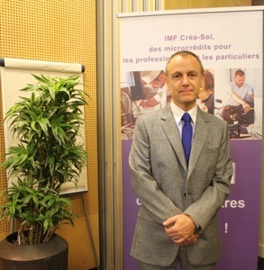 """Thanks to credits from Créa-Sol, Marc Low opened his HR company, """"Connect RH"""" in Marseille (photo Astrid Jousset)"""