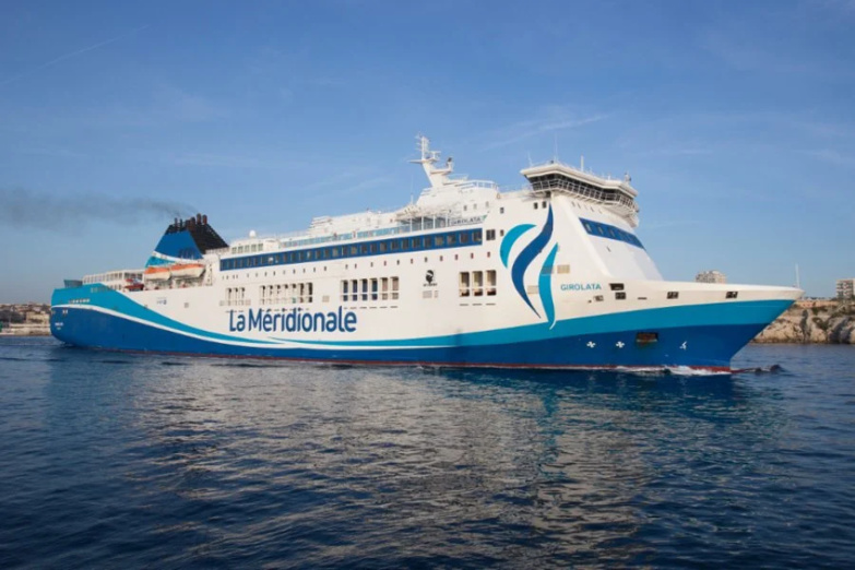 The Girolata will be one of the two ships, along with the Pelagos, to make the crossing between Marseille and Tangier Med (photo: La Méridionale).
