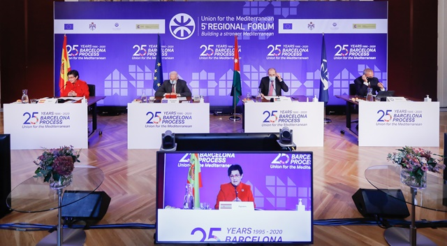 The UfM Regional Forum pointed out the priorities for 2021 (photo: Gerard Franquesa/UpM)