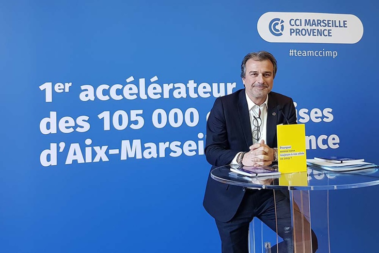 FRANCE. President of the Aix-Marseille-Provence Metropolitan Chamber of Commerce and Industry, Jean-Luc Chauvin was elected President of the Association of Metropolitan CCIs.  Jean-Luc Chauvin becomes President of ACCIM (photo: F.Dubessy)