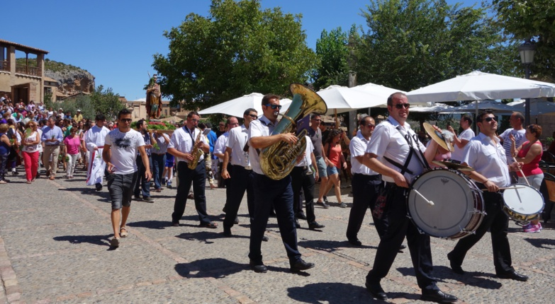 The famous Spanish processions are no longer a reality. Photo GT.