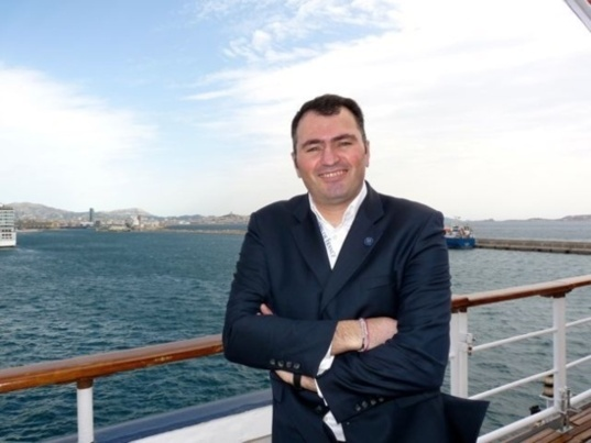 Antoine Lacarrière, CEO of French cruise line Croisières de France (CDF), maintains the Horizon's stopovers in Tangiers, Casablanca and Tunis in 2013. (Photo N.B.C)