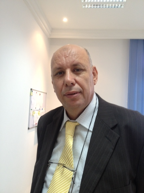 Despite the crisis and the hesitant recovery of 2012, Mustapha Jabeur, CEO of the Tunisian terminal, is optimistic (photo GSC)