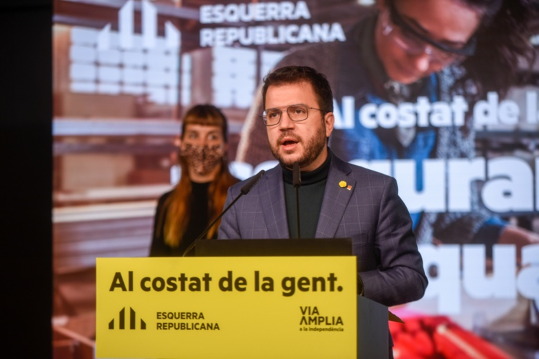 Father Aragones is expected to preside over the new Catalan Parliament (photo: ERC)