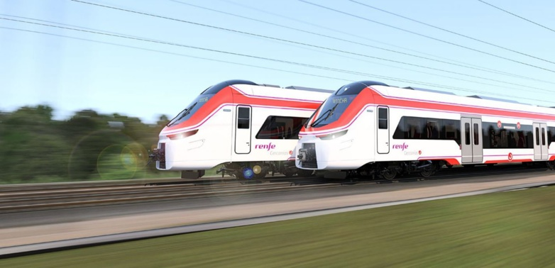The contract with Renfe covers Alstom's X'Trapolis suburban trains (photo Alstom)