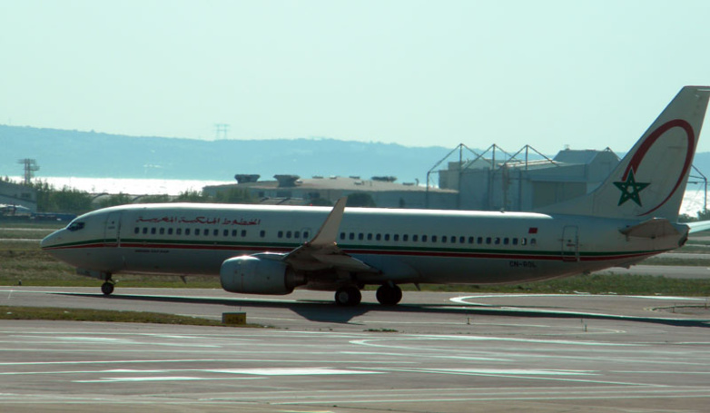 Royal Air Maroc planes will not fly to Spain and France until further notice (photo: B.L.)