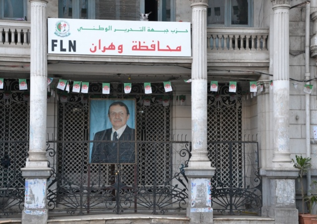 The Algerian street is rising against a fifth term for Abdelaziz Bouteflika in power since 1999 (photo: F.Dubessy)
