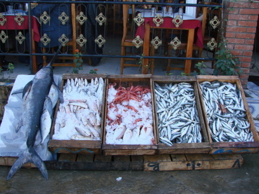Fish are considered an upmarket product and are expensive.  (Photo AB)