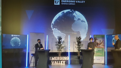 The 4th edition of Emerging Valley took place in phygital from Marseille (photo: F.Dubessy)