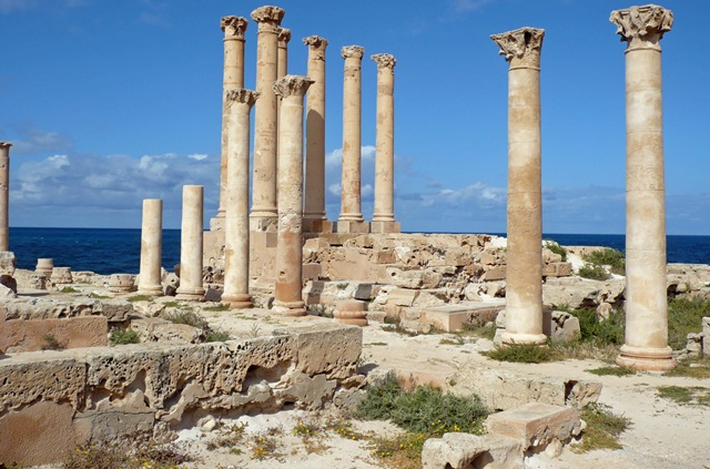 The Roman ruins of Sabratha are among the main tourist attractions in Libya (photo: Lybian Tourism)