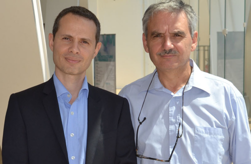 (from left to right) Thaneur Hemdane and André Jaunay, the two co-presidents of Financement participatif en Méditerranée, want to strengthen crowdfunding in the Mediterranean (photo: F.Dubessy)