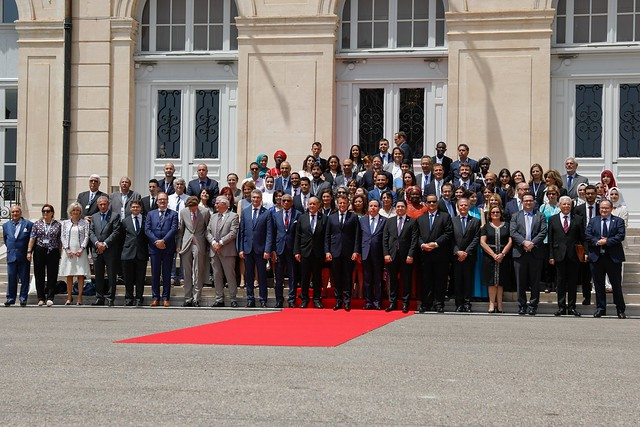 No heads of state, but a civil society that makes proposals (photo: France Diplomatie)