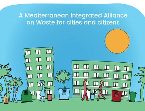 MED-InA is supported by seven Mediterranean partners (MED-InA graph)