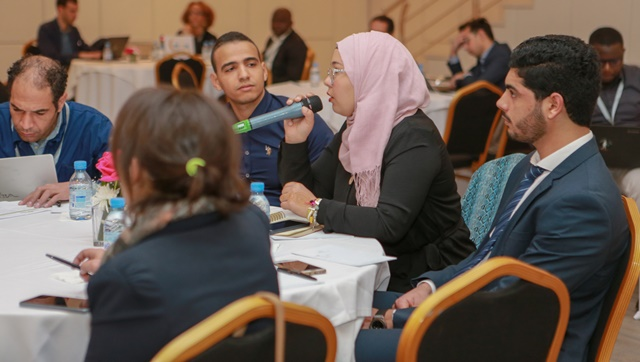THE NEXT SOCIETY helps start-up - Here during the Africa Summit (photo : Start Up Maroc)