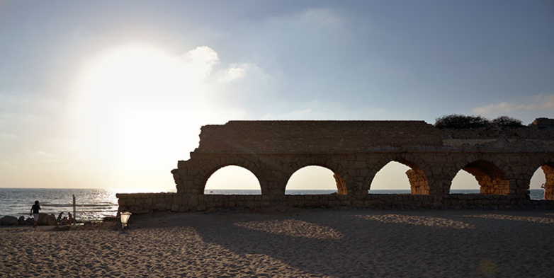 The Ascame wants to accelerate the recovery of tourism in the Mediterranean - Here Caesarea (photo F.Dubessy)