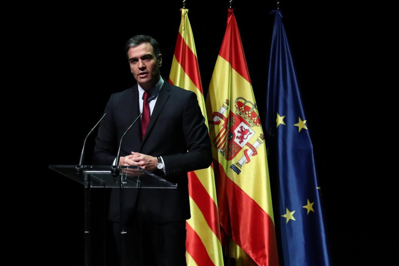 In his speech in Barcelona, Pedro Sánchez took a first step towards reconciliation between the Catalans and the central government (photo: Moncloa)