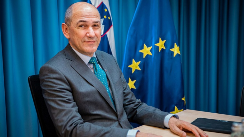 Janez Janša and his government take over the EU presidency for six months (Photo: Slovenian Government)