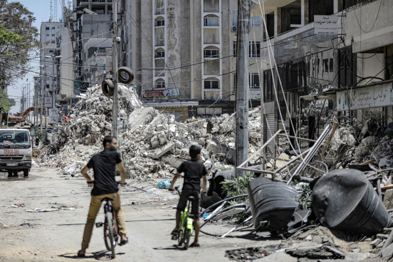 The damage in Gaza after eleven days of bombing has mainly affected housing (photo: UNRWA/Mohamed Hinnawi)