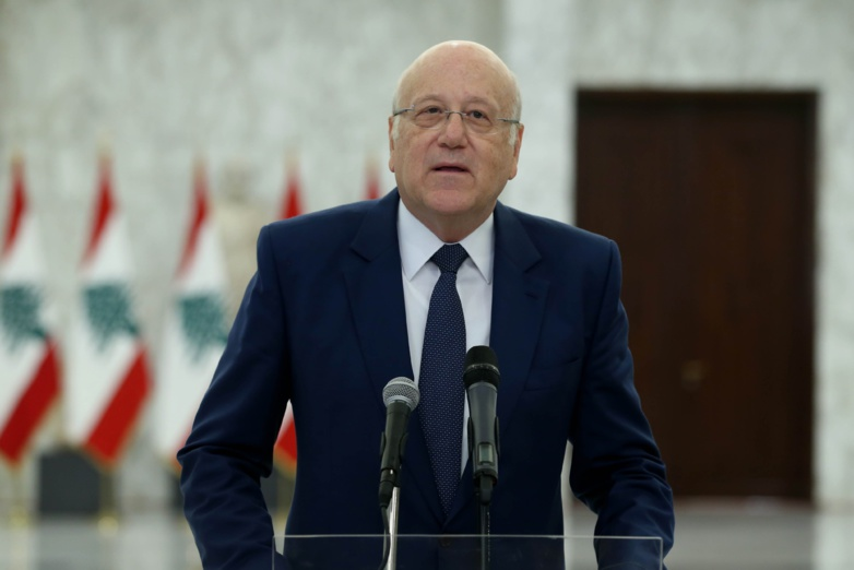 Prime Minister Najib Mikati must find fuel to get the country back on track. (photo: Presidency of Lebanon)