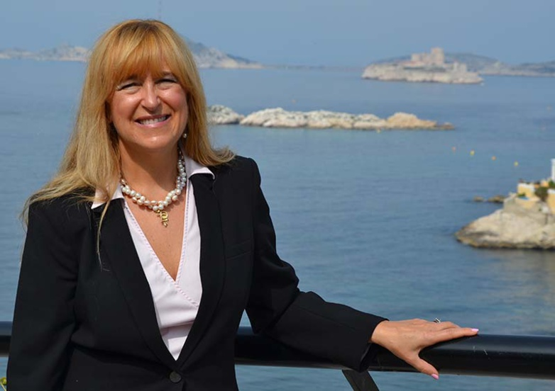 Blanca Moreno-Dodson moves from the World Bank to the UN, but remains director of the CMI in Marseille (photo: F.Dubessy)