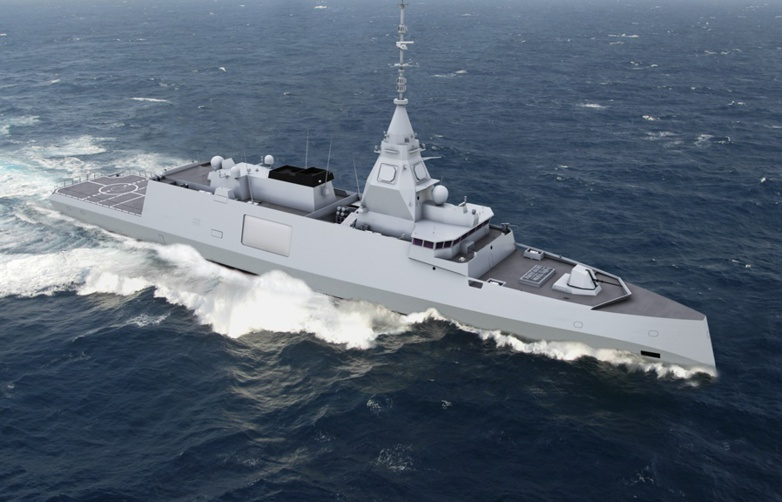 The FDI-HN frigate is marketed for export under the name Belharra (photo: Naval Group)