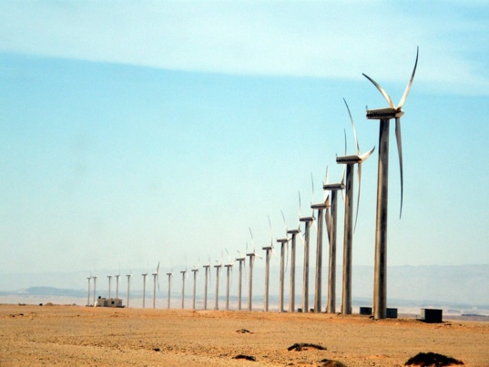 Zafarana Wind farm (photo CC-Youssef Alam)