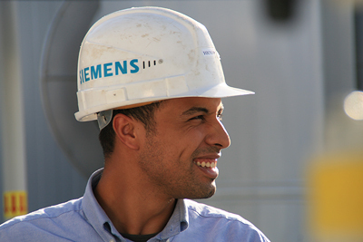Legitimate businesses have the best opportunities for market interaction.  (Photo Siemens)