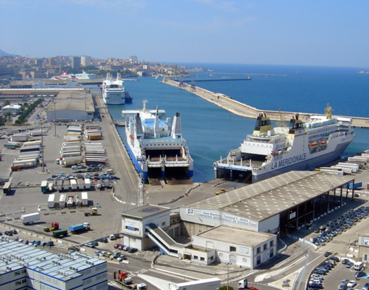 In 2013, traffic through Marseille fell 5.9% (photo F.Dubessy)